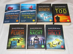 7x Klaus-Peter Wolf: 10 - 14 Ostfriesenschwur Tod Fluch Nacht Hölle + 2