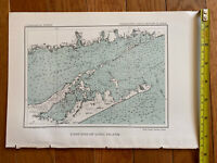 Antique Map- East End Of Long Island (1892)