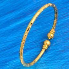 Cuff Bangle Bracelet Gold Plated Womens Girls jewellery Adjustable