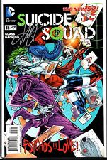 Suicide Squad #15 New 52 Signed by Cover Artist Ken Lashley VF Unread