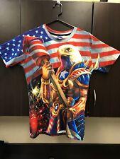 Señor 1991 Inc & Miss Go-eagle doble cara camisa tamaño XL