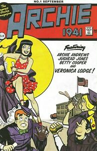 Archie 1941 #1 Sensation Comics #1 Wonder Woman Homage Variant NM+ Limited Run