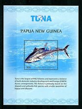 Papua New Guinea 2016 MNH Bluefin Tuna Fishing 1v S/S Fish Fishes Stamps
