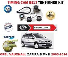 Pour Opel Opel Zafira B Mk II 2005-2014 Gates Tendeur Courroie Distribution Kit