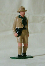 """Boy Scout Walking with Canteen, 3"""" hand-painted reproduction of vintage figure"""