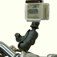 Ram Motorcycle M8 Handlebar Clamp Short Arm Camera Mount for GoPro Hero