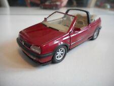 Schabak VW Volkswagen Golf 3 Cabriolet in Red on 1:43
