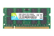 NEW 2GB PC2-5300 DDR2-667MHz SODIMM Laptop Memory RAM For Lenovo ThinkPad T61