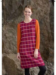 Gudrun Sjoden  Chess Cotton / Knitwear Dress M (14)