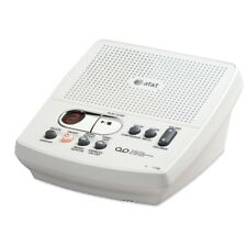 AT&T Digital Answering System Machine w/ Time & Date Stamp White English/Spanish