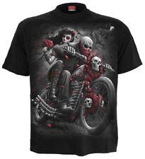 SPIRAL DIRECT DOTD BIKERS T-Shirt/Riders/Skull/Biker/Goth/Tattoo/Day of the dead