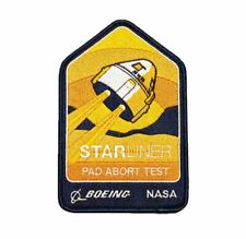 """Boeing NASA Starliner Pad Abort Test Mission Patch 5.2"""" Space"""