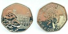 PADDINGTON BEAR 50P COINS - STATION PALACE TOWER CATHEDRAL FREE POSTAGE