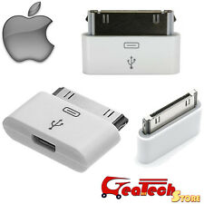 Adattatore Originale Apple 30 Pin a Micro Usb MD099ZM Connettore Per iPhone 4 4S