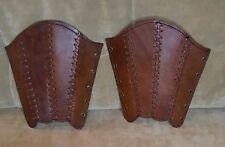Leather Suede Lined Medieval Gauntlets Renaissance