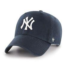 MLB New York NY Yankees Cap navy Basecap adjustable Baseballcap cleanup Logo