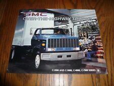 1984 gmc over-the-highway trucks c-3500 c-5000 c-
