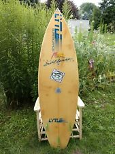 VINTAGE 1990s Lytle California Surfboard 3 Fin WITH STICKERS!