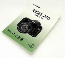 Canon EOS 20D Digital Instruction Manual #3622