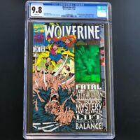 Wolverine #75 (1993) 🔥 CGC 9.8 🔥 Hologram Cover! Comic Marvel