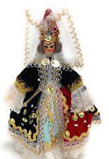 Vintage Knickerbocker Doll In Royal Dress