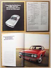 Original Werbeprospekt Audi 100 LS & Super 90 um 1970 Automobile Oldtimer xz