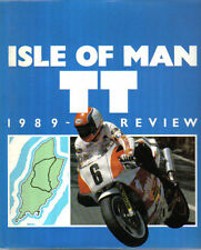 Isle of Man TT 1989 Review Hardback Full Colour book - Races Riders Motorcycles