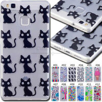 For Huawei P9 Lite Silicone Soft Skin Shockproof Cover Rubber TPU Gel Case Back