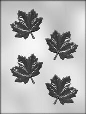3 inch Maple Leaf Chocolate Candy Mold from CK #13046 - NEW