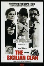 The Sicilian Clan (1969) Henri Verneuil, Alain Delon / DVD, NEW NTSC All Region