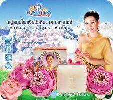 Snow Lotus Flower Cool Soap herbal white reduce acne dark spot clear deodorant