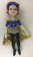 "Disney Store Treasure Planet Captain Amelia 16"" Plush Stuffed Animal Toy Doll"