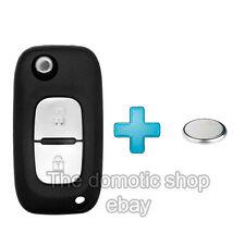 Coque Clé Telecommande Plip Renault Clio 2 Kangoo 3 Phase twingo modus+PILE clef