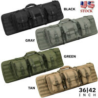 36/47in Tactical Soft  Padded Carbine Rifle Range Gun Molle Bag Hunting Backpack