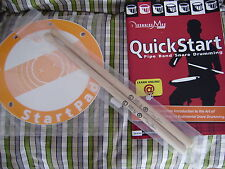 Drumming Mad - QuickStart drum pad, book and sticks learn bagpipe drumming