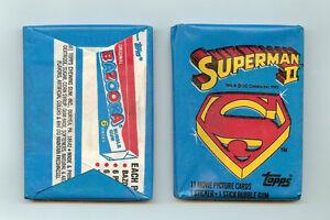 1981 Topps Superman II single Wax Pack