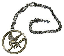 "The Hunger Games Necklace Single Chain ""Mocking Jay"" Mockingjay metal jewelry"
