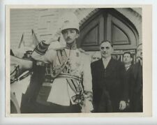 1942 IRAQ VINTAGE PHOTO نوري السعيد‎ OPENING OF PARLIAMENT NURI-AS-SAID