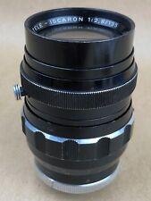Isco Gottingen 135mm f/2.8 Tele-Iscaron 16 Blades Vintage Lens for Exakta Exa