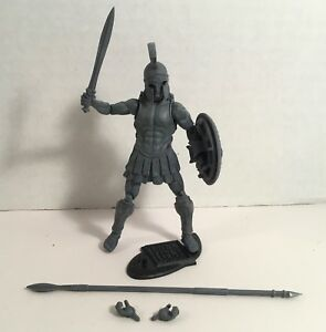 Vitruvian HACKS Stone Cursed Spartan loose action figure Boss Fight 2016