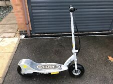 Razor Electric Scooter Grey E300 24V with 2 x New 12V 9Ah Batteries and Charger