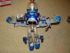 Rare Disney Pixar Toy Story Buzz Lightyear Transforming Airplane Action Figure