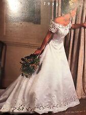 Benjamin Roberts blanc robe de mariage-Collection 1998-UK 12