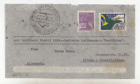 W722-BRAZIL-CONDOR ZEPPELIN TO GERMANY 1934