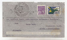 W722-BRAZIL-CONDOR ZEPPELIN TO GERMANY 1934