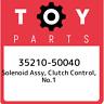 35210-50040 Toyota Solenoid assy, clutch control, no.1 3521050040, New Genuine O