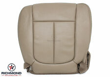 2011-2014 F150 -Driver Side Bottom Replacement PERFORATED Leather Seat Cover TAN
