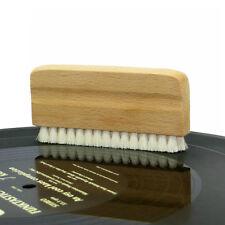 Genuine Goat's Hair Vinyl Record Cleaning Brush--Anti Static