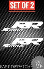 S1000RR STICKERS BMW S1000RR DECALS X2 FAIRINGS PLASTICS UK MADE MANY COLOURS RR