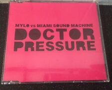 MYLO & MIAMI SOUND MACHINE - DOCTOR PRESSURE - UK CD SINGLE-buy 2 Get 1 Free